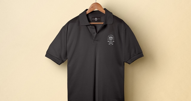 collar t shirt mockup