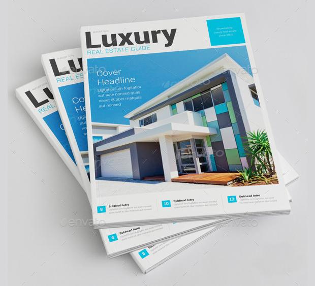 luxury real estate brochure design