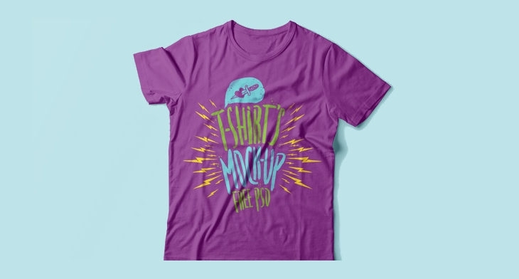 5710e92821a46 20+ T Shirt Mockups - Editable PSD, AI, Vector EPS | Design Trends ...