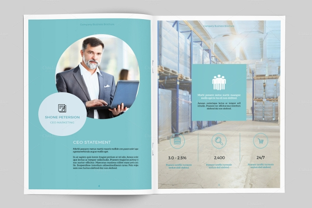 small business brochure design