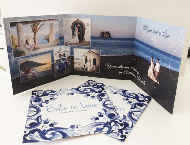 wedding planner brochure design