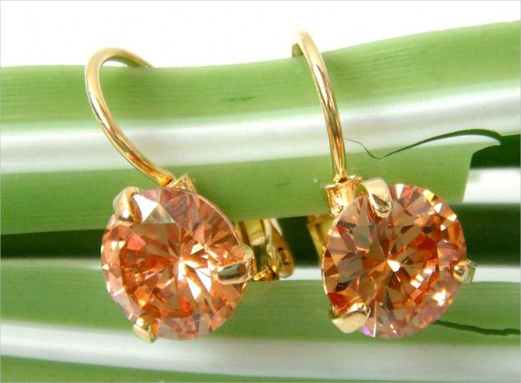 crystal citrine earrings1