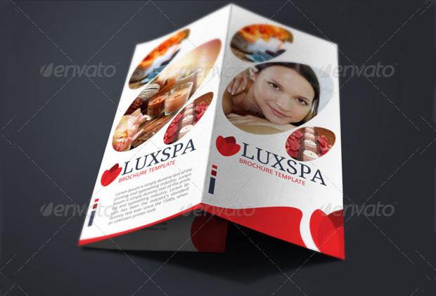 medical spa brochure design
