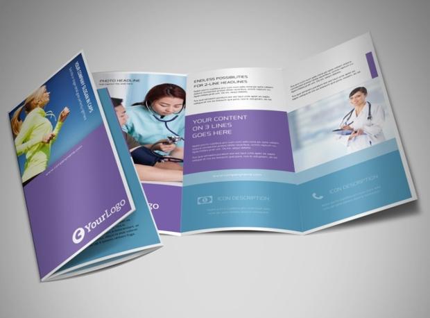health insurance brochure design