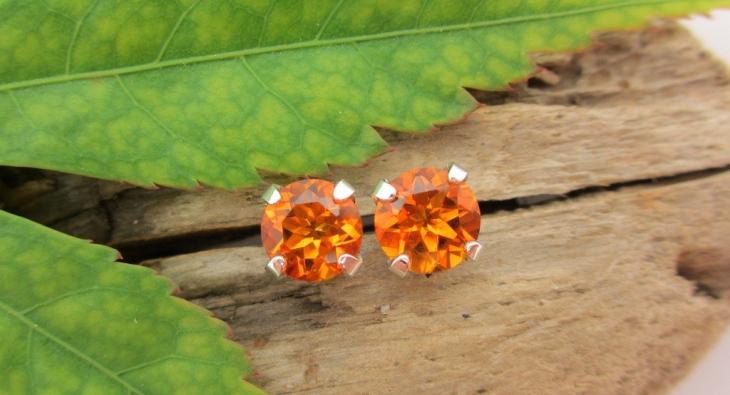platinum citrine earrings1