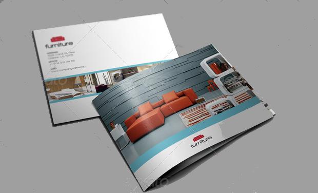 furniture company brochure design