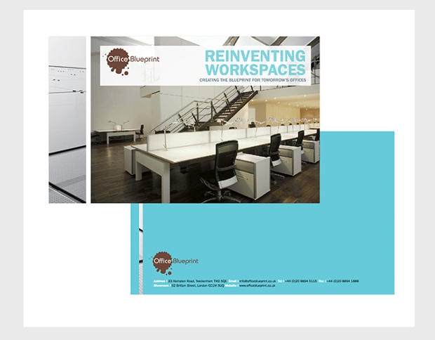 office furniture brochure design