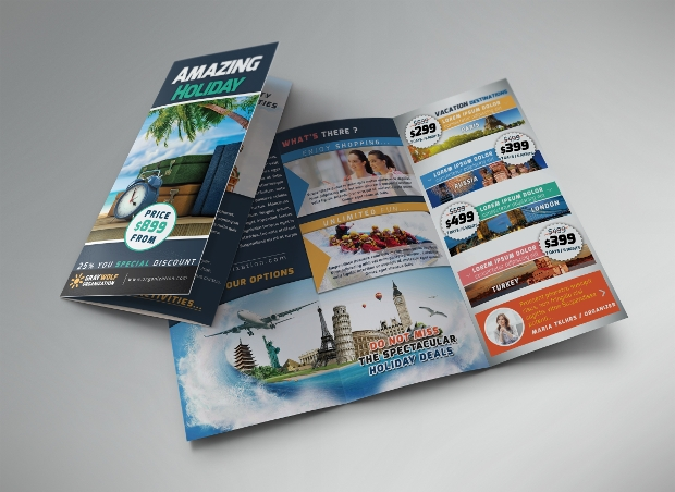 20 Tri Fold Brochures Printable Psd Ai Indesign