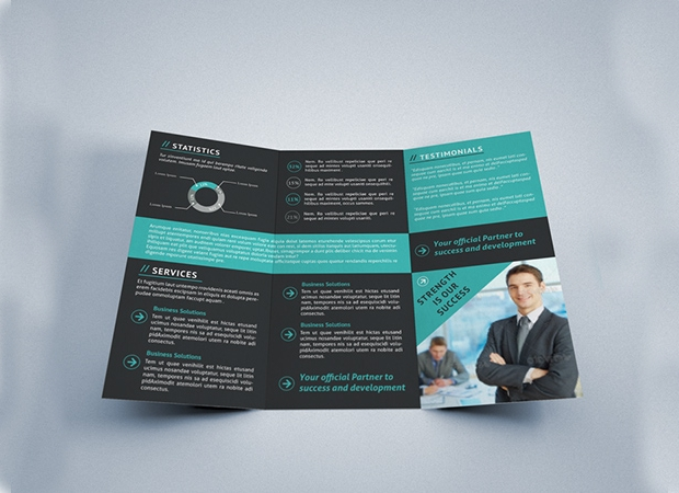 Indesign Tri Fold Brochure