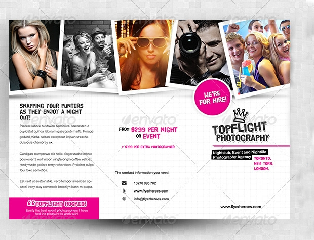 Photography Tri Fold Brochure