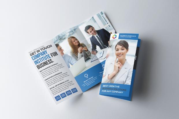 modern conference brochure design