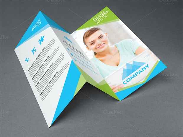Corporate Business Tri Fold Brochure
