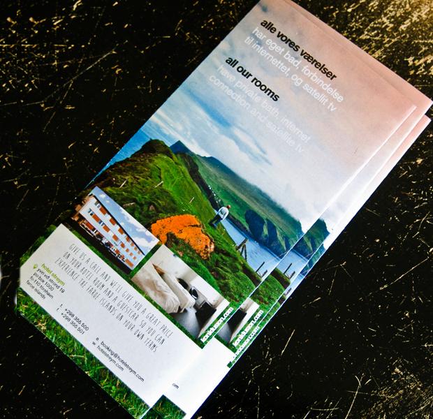 hotel conference brochure design