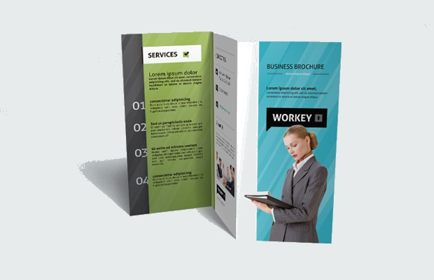 Modern Corporate Tri Fold Brochure