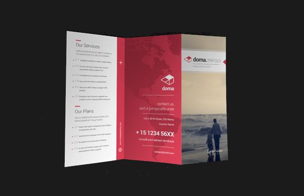 Doma Tri Fold Brochure