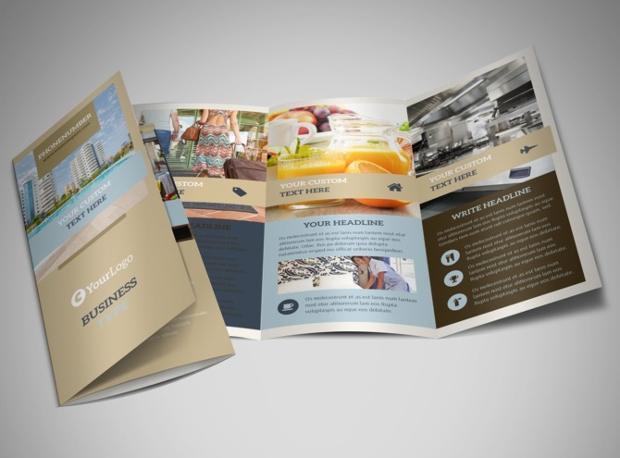 Hotels Tri Fold Brochure
