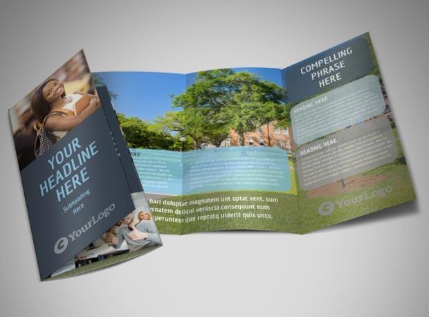 Tech University Tri Fold Brochure