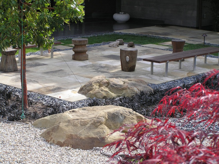 Slate Rock Patio Design