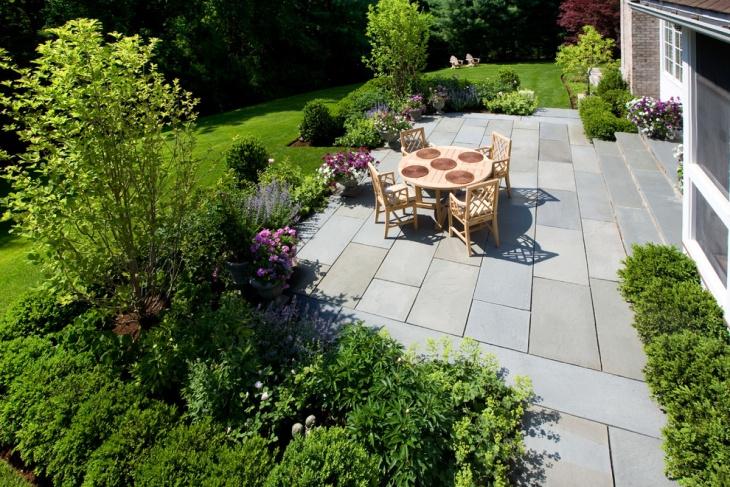 backyard patio landscape design