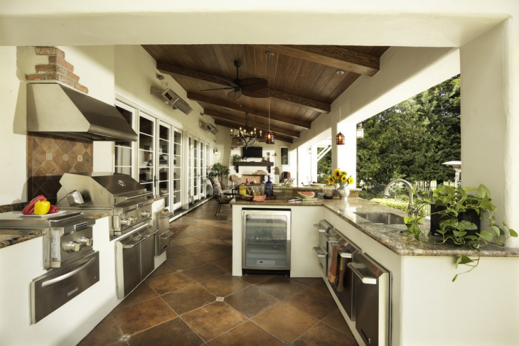 covered outdoor kitchen design1