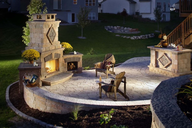 outdoor paver patio design