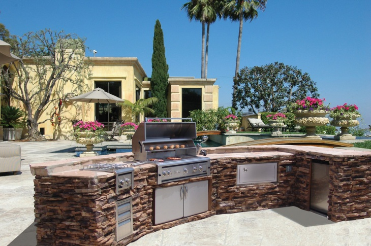 46 outdoor designs ideas design trends premium psd for Luxury outdoor kitchen