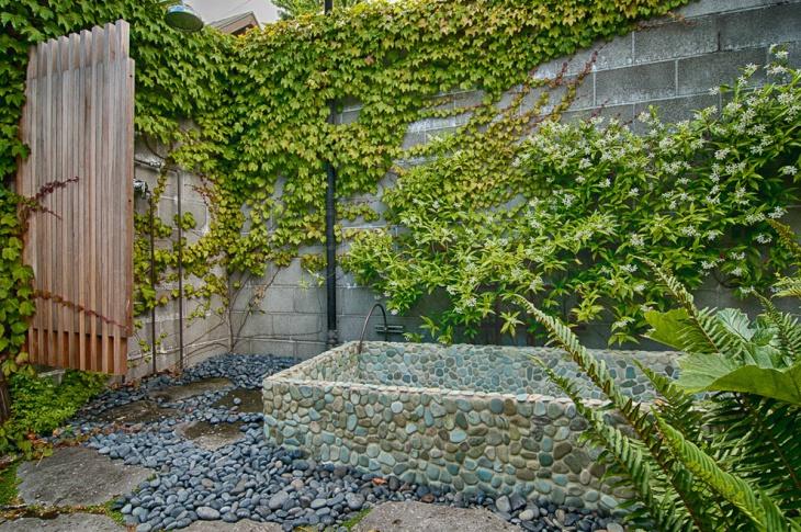 outdoor rock garden design