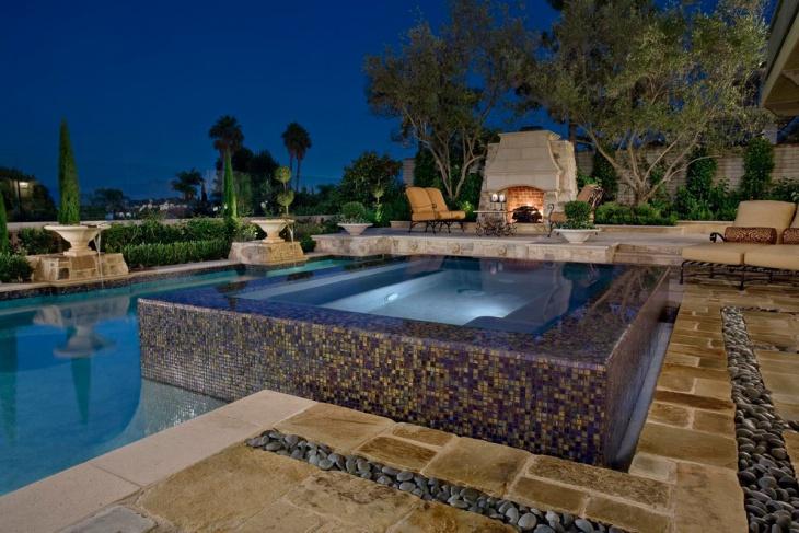 outdoor spa room design