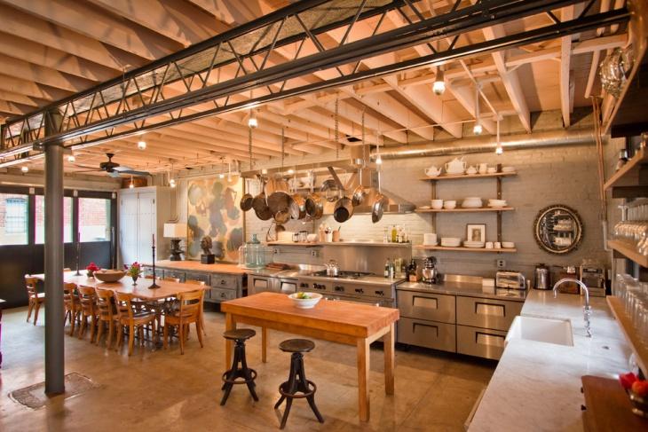 industrial restaurant kitchen