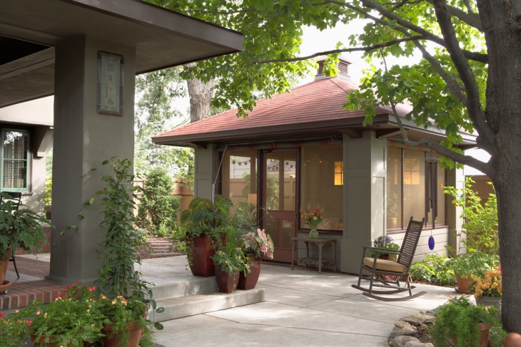 outdoor screen room design