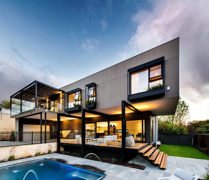 modern outdoor railing design