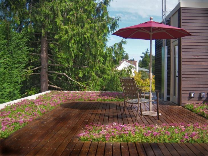 Floating Roof Deck Design