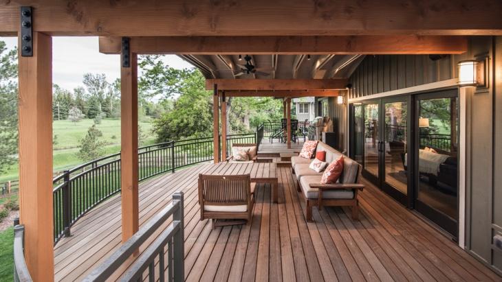 curved metal deck