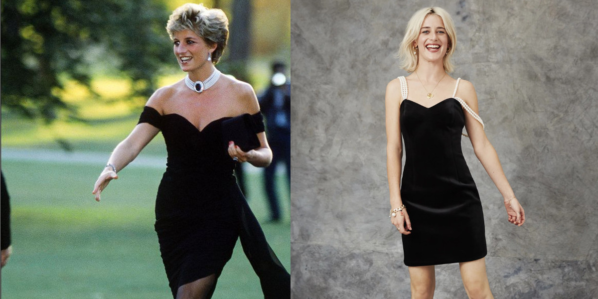 princess diana velvet dress1