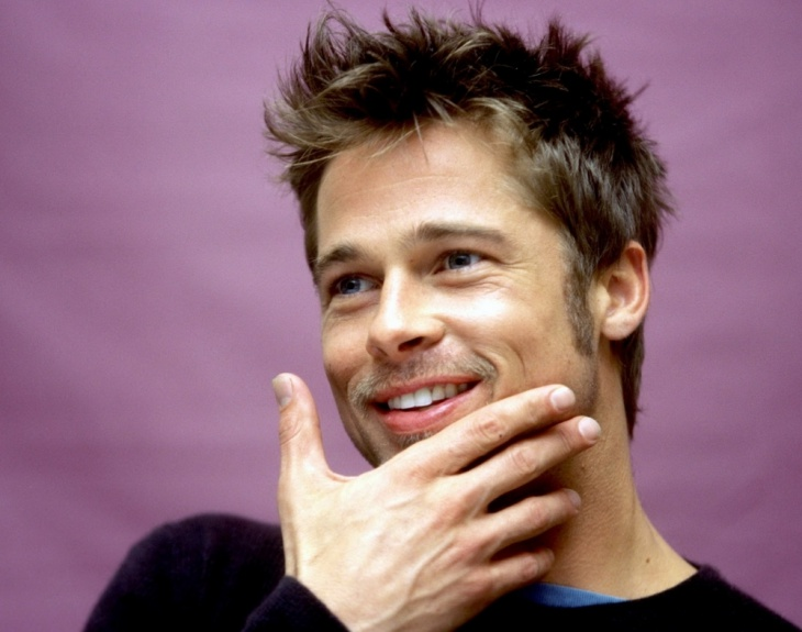 brad pitt combover flow hairstyle