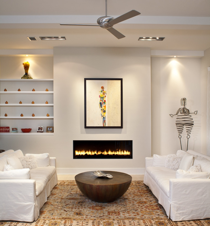 luxury electric fireplace design