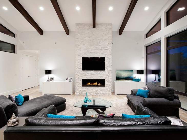 wall mount electric fireplace design