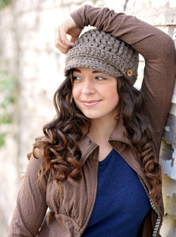 crochet hat for women