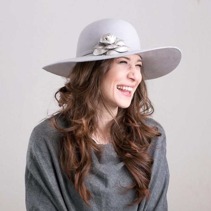 winter floppy hat