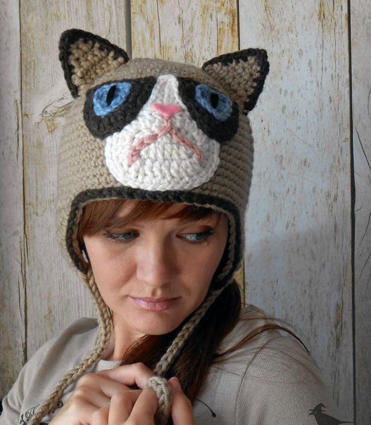 handmade funny hat designs