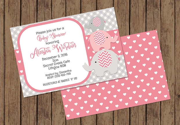 30+ baby shower invitations - printable psd, ai, vector eps, Baby shower invitations