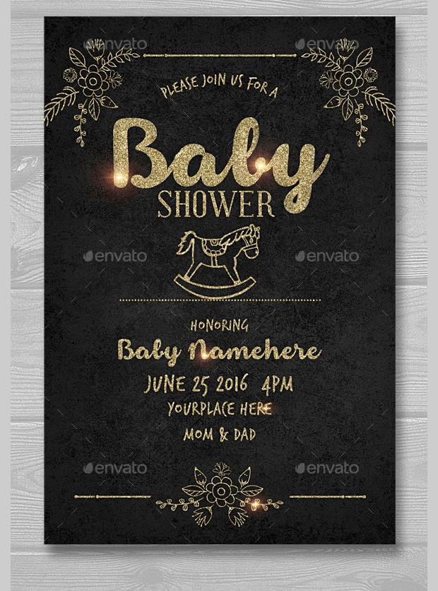 30+ Baby Shower Invitations - Printable PSD, AI, Vector EPS | Design ...