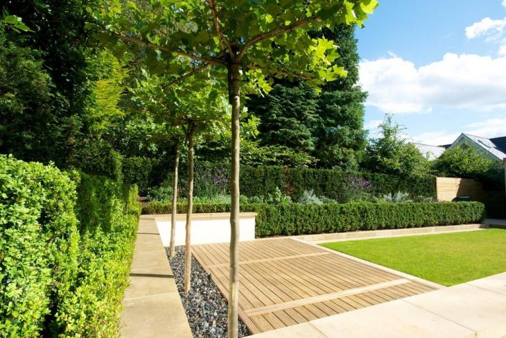 ultra modern garden design
