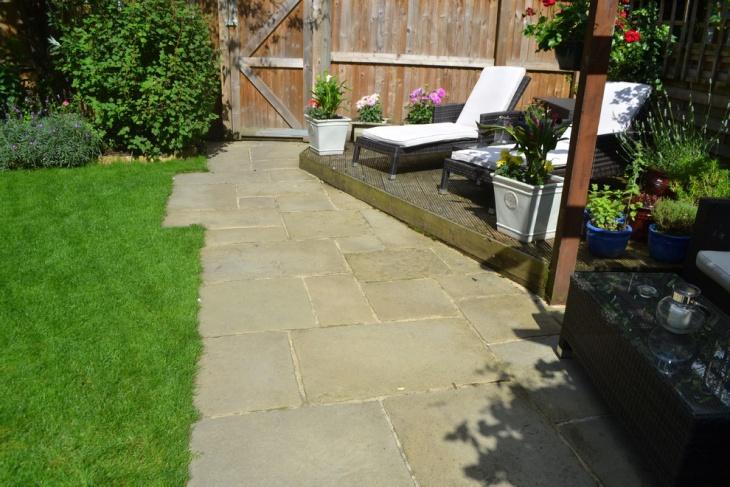 victorian terrace garden design