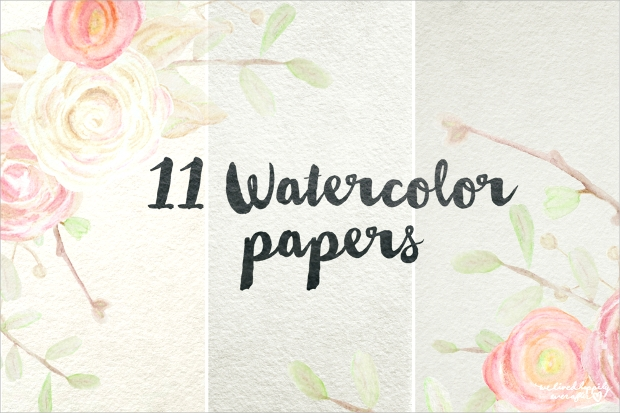 digital watercolor paper texture