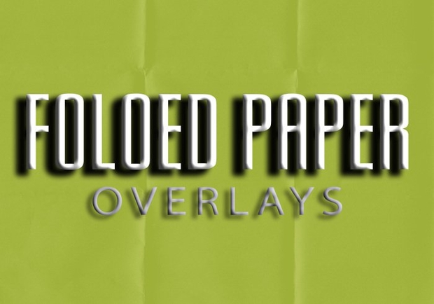 folded overlay paper texture