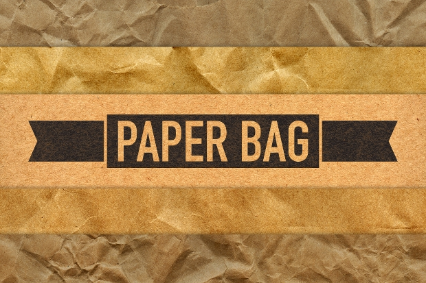 High Resolution Paper Bag Texture