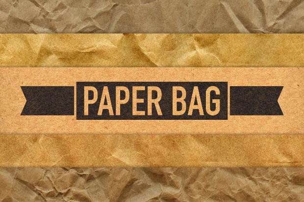 high resolution paper bag texture