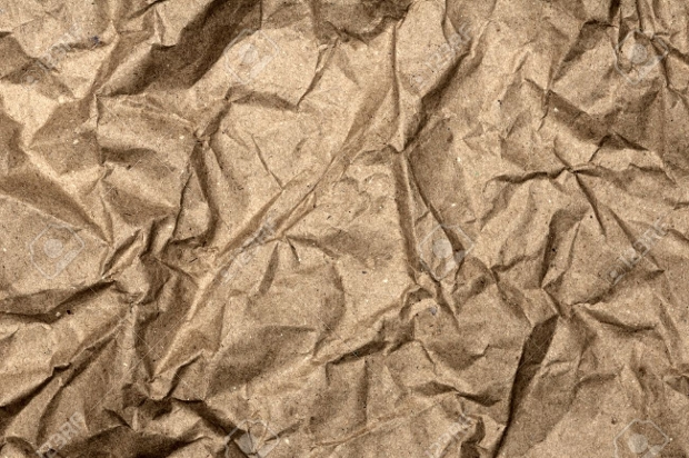 crumpled paper bag texture