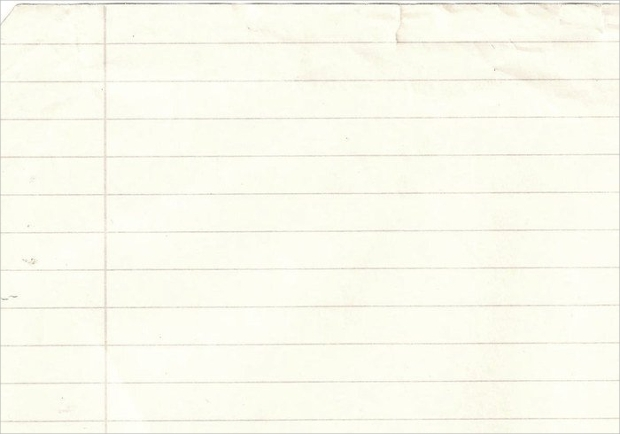 Lined Notebook Paper Texture